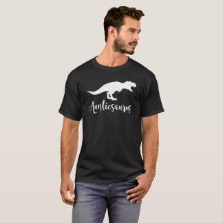 Camiseta Tia Dinossauro Família Presente T de Auntiesaurus