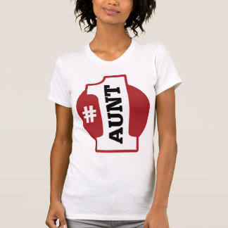 Camiseta Tia do número 1