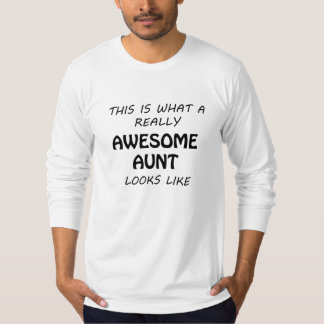 Camiseta Tia impressionante