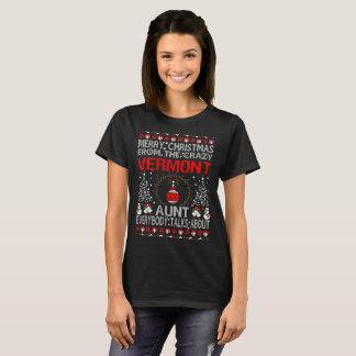Camiseta Tia Natal Feio Tshirt de Vermont do Feliz Natal
