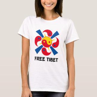 Camiseta tibet livre