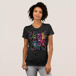Camiseta Tic-TAC-Dedo do pé - edição fresca da pintura