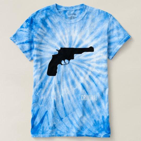 camiseta Tie-Dye criminal