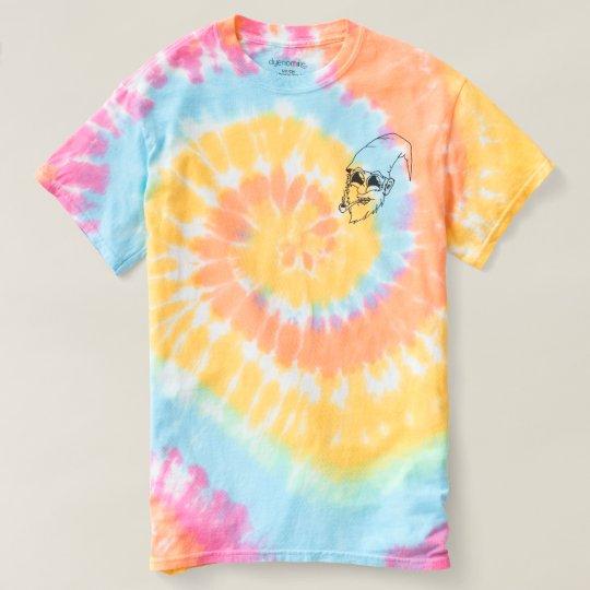 Camiseta Tie Dye Trippin Toon