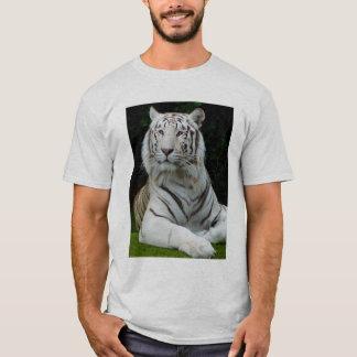Camiseta Tigre branco majestoso