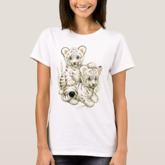 Camiseta Tigre Cubs branco bonito