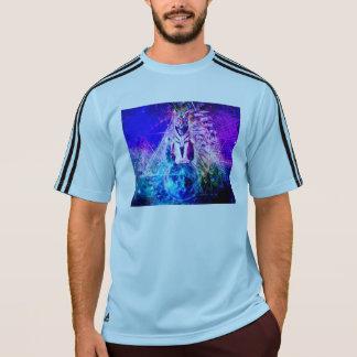 Camiseta Tigre da galáxia - tigre cor-de-rosa - 3d tigre -