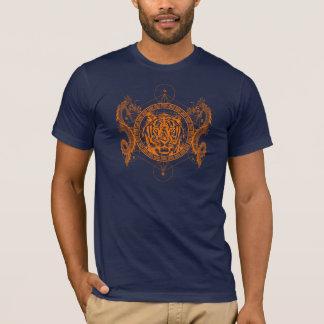 Camiseta Tigre e dragões gêmeos