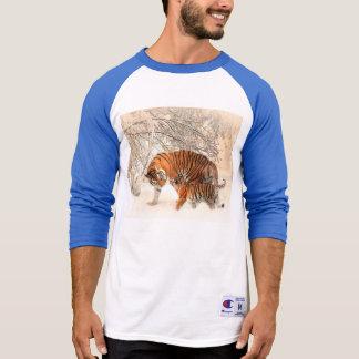 Camiseta Tigre e filhote - tigre