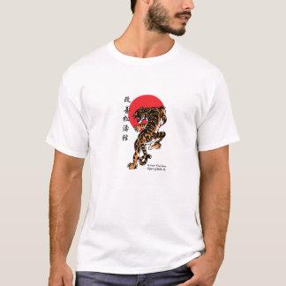 Camiseta Tigre e Sun de Shotokan
