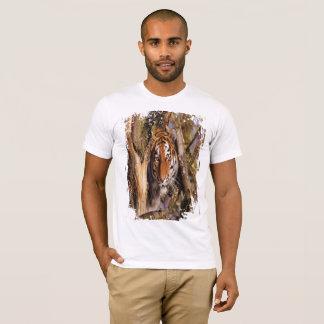 Camiseta Tigre escondido! (Olhar sujo)