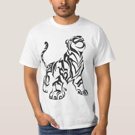 Camiseta tigre tribal