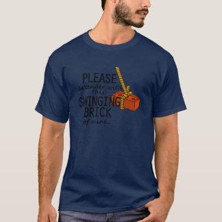 Camiseta Tijolo de balanço