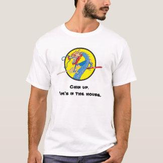 """Camiseta Tim """"camisa de Chin do dragão"""""""