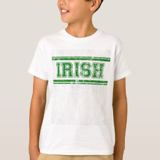 Camiseta Time do colégio irlandês DS do vintage