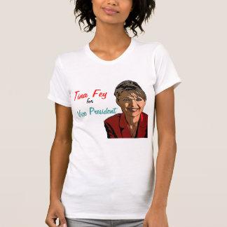 Camiseta Tina enigmático para o vice-presidente!
