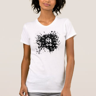 Camiseta Tinta imaculada Splat