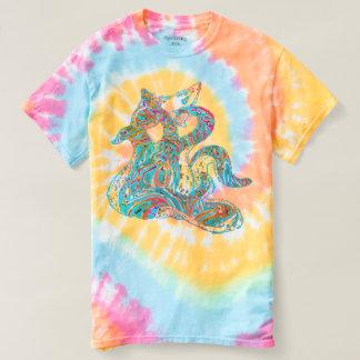Camiseta Tintura do laço de Skapetti