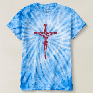 Camiseta Tintura do laço do Cristo de Jesus