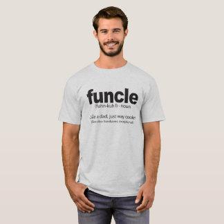 Camiseta Tio engraçado Citação da definição de Funcle