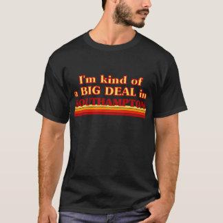 Camiseta Tipo de I´m de uma grande coisa em Southampton
