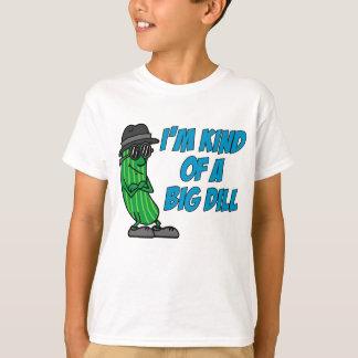 Camiseta Tipo de I'm de um aneto grande