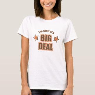Camiseta Tipo de I'm de um t-shirt da boneca da grande