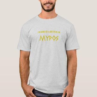 Camiseta Tipo de I'm de uma grande coisa em Mypos