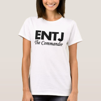 Camiseta Tipo de personalidade de ENTJ