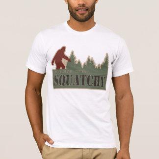 Camiseta Tipo de sentimento de Squatchy