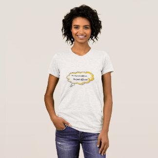 Camiseta Tipo diferente da sensação