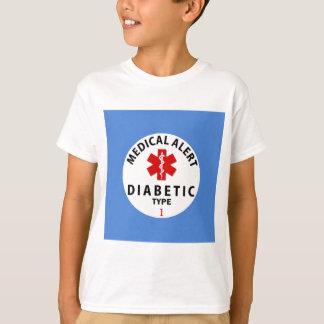 CAMISETA TIPO DO DIABETES - 1