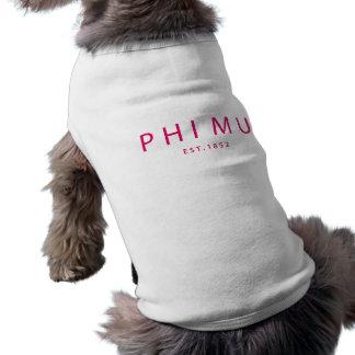 Camiseta Tipo moderno da MU da phi