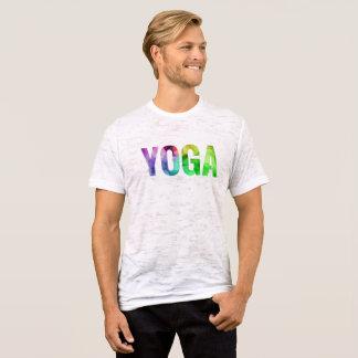 Camiseta Tipografia de Bokeh da ioga