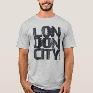 Camiseta Tipografia de Londres, Inglaterra