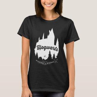 Camiseta Tipografia do castelo de Harry Potter | HOGWARTS™