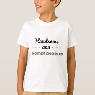 Camiseta Tipografia legal considerável e de Homeschooled