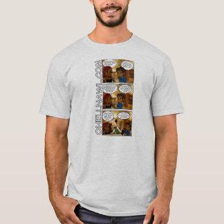 Camiseta Tira de OHN - não dando acima o menu dos @ss