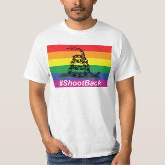Camiseta Tiro da bandeira do cascavel de Gadsen do orgulho