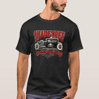 Camiseta Tiro Rod da loja da velocidade da árvore de