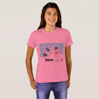 Camiseta 'Tis o gráfico do Natal da estação