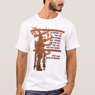 Camiseta Título da liberdade: Livro da história do Mormon