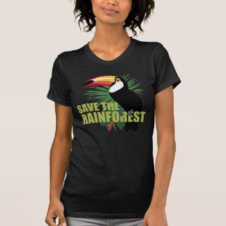 Camiseta TJED salvar o t-shirt da floresta húmida