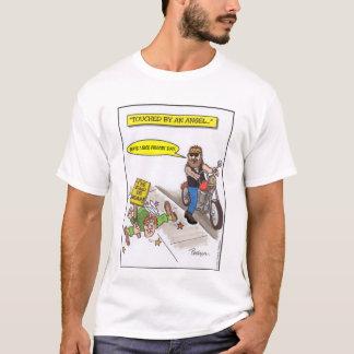Camiseta Tocado por um anjo