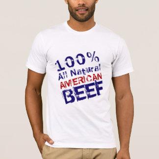 Camiseta Toda a carne americana natural