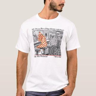 """Camiseta """"Toda a vida é um borrão dos republicanos e da"""