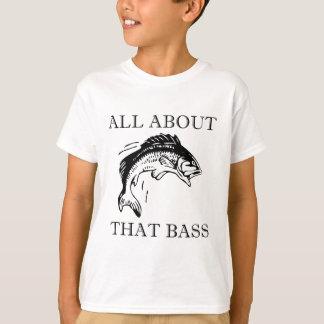 Camiseta Toda sobre essa chalaça do barco do pescador da