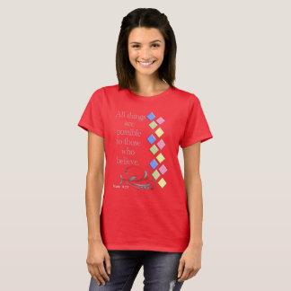 Camiseta Todas as coisas possíveis --- T-shirt