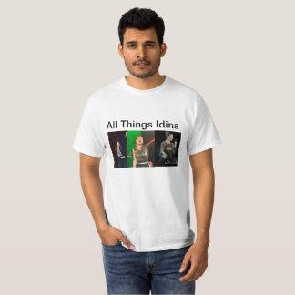 Camiseta Todas as imagens de Idina das coisas tri