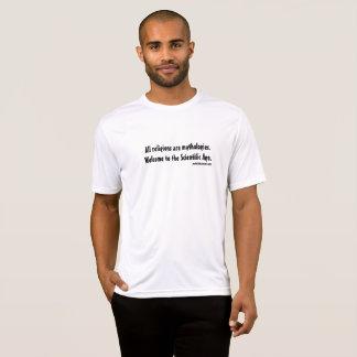 Camiseta Todas as religiões são mythologies.